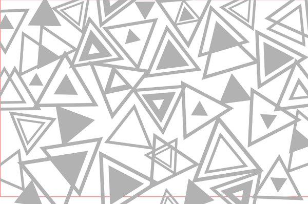 【cdr】三角形_图片编号:wli1058338