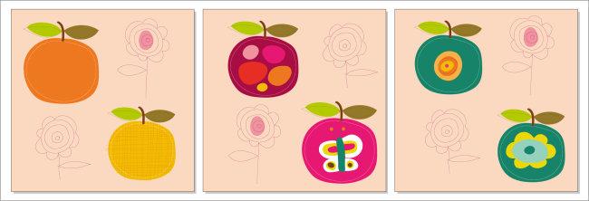 【ai】矢量无框画(苹果)