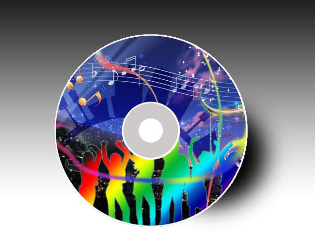 【psd】音乐光盘 音乐cd