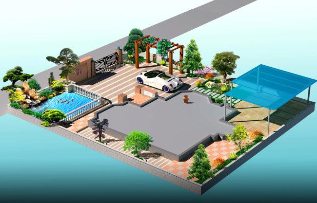 关键词: 花园设计 私家花园 欧式庭院 假山 鱼池 说明:庭院设计 分享