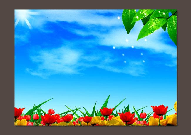 【psd】高清晰风景背景图设计