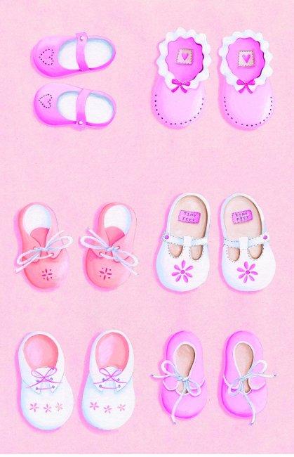 【psd】可爱鞋子_图片编号:wli1314849_人物插画_插画