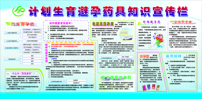 【cdr】计划生育宣传展板