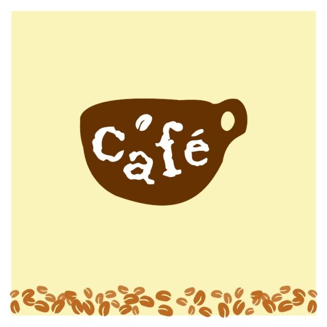 【cdr】咖啡馆logo标志设计