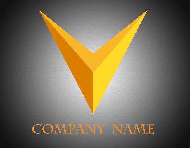 商标 logo设计 v形 logo 简洁logo v字logo v 圆形logo 酒店 餐饮
