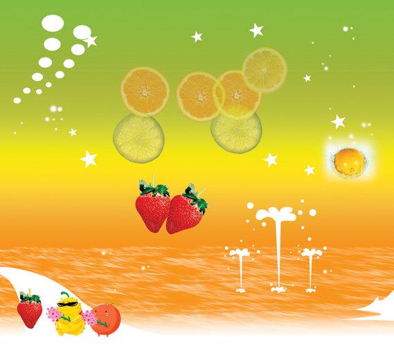 【tif分层】可爱水果