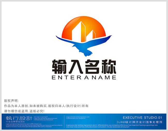 原创专区 标志logo设计(买断版权) 房产物业logo > 企业公司logo设计图片