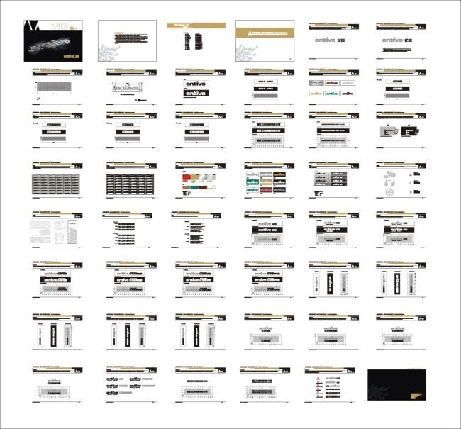 主页 原创专区 海报设计|宣传广告设计 vi模板 > a亿田vi基础部分