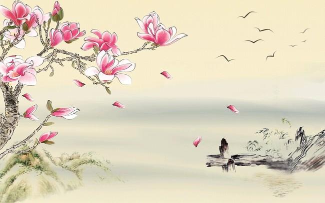 小鸟 大雁 水墨 说明:高清木兰花山水风景沙发电视背景 分享到:qq空间