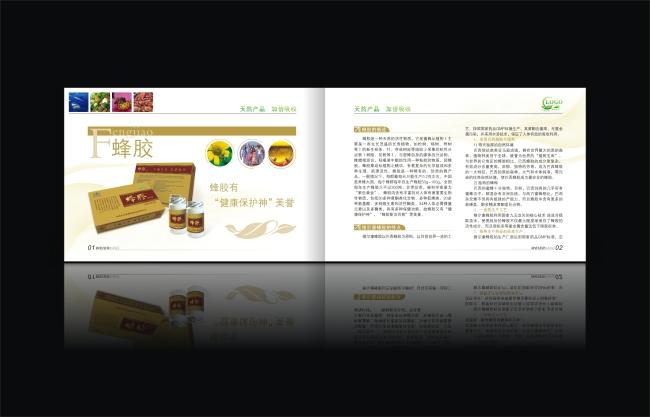 书籍 杂志 报纸 画册设计行赏 书籍设计素材 保健营养品画册 说明图片