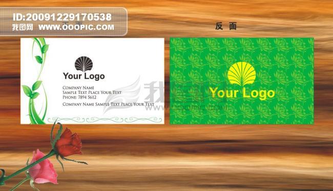 【cdr】环保公司名片图片