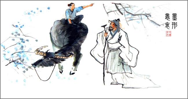 室内装饰用图 > 放牛儿童  关键词: 国画 中国水墨画 装饰画 家居装饰