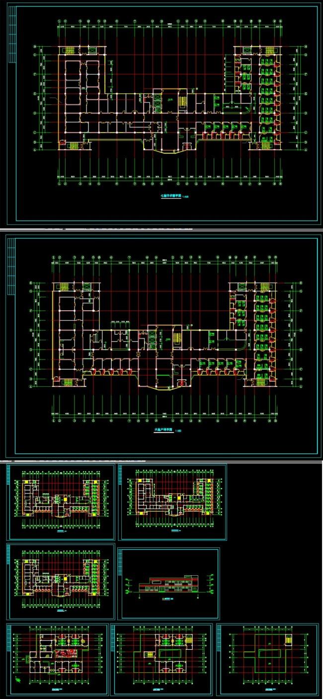 某医院建筑设计方案cad图纸