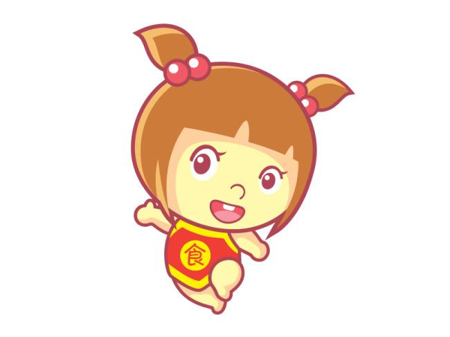 【ai】卡通小女孩