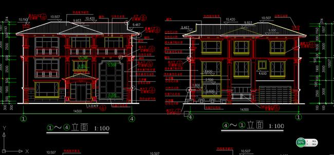 别墅设计图CAD施工图