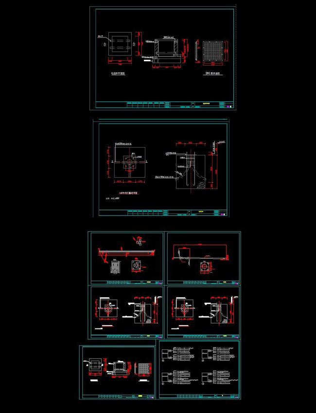 【dwg】路灯设计系统cad图纸