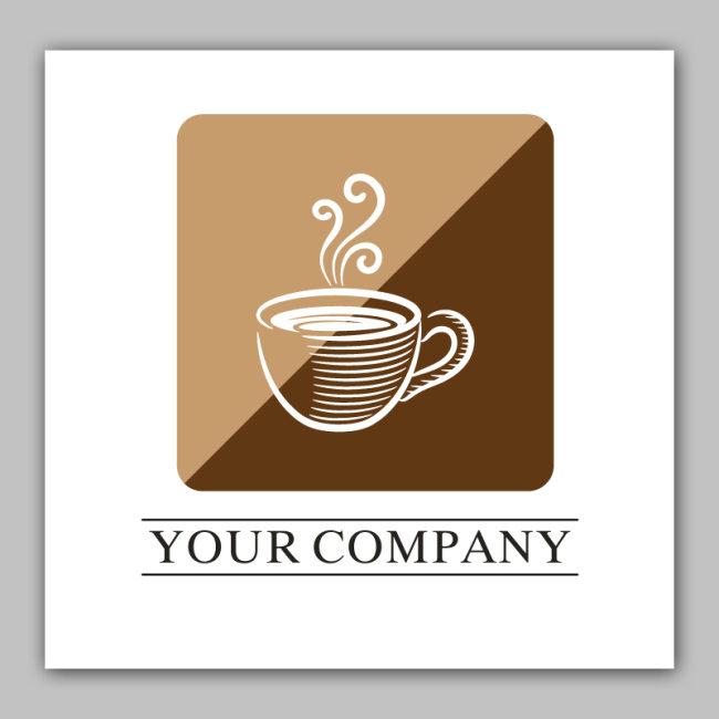 【ai】logo设计 咖啡店