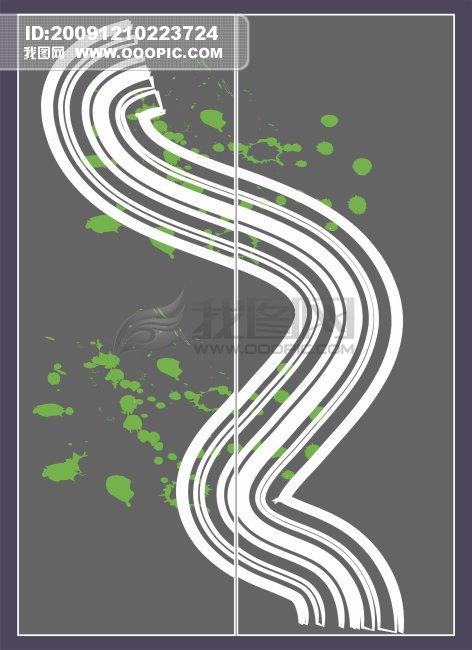 创意设计 移动门创意 花边图案 花边底纹 线条底纹 线路 线条画 线条