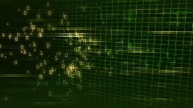 【mov】绿色科技粒子动态视频素材