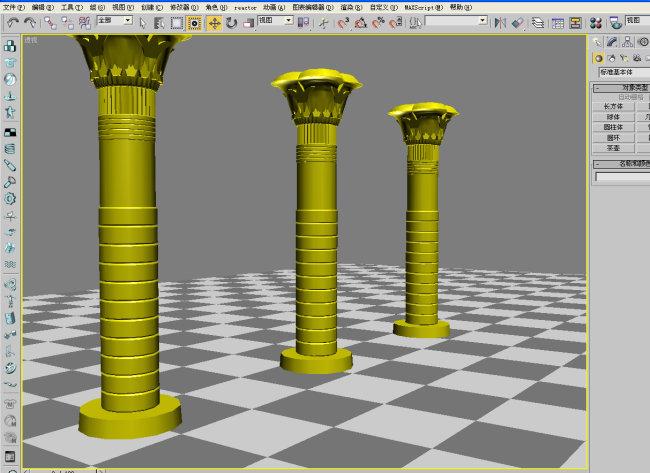 室外模型 > 柱子07  关键词: 柱子 柱子模型 3d柱子 罗马柱 欧式柱子
