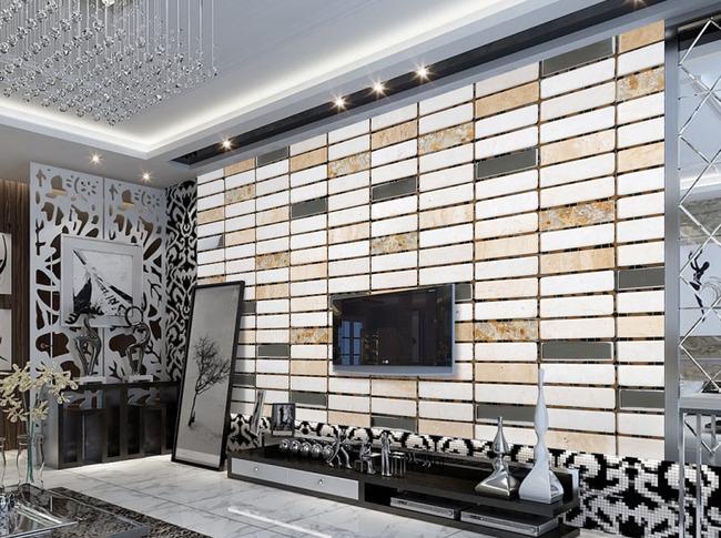 电视墙 欧式电视背景墙 壁画 浮雕 电视背景墙 现代 简约 欧式 瓷砖