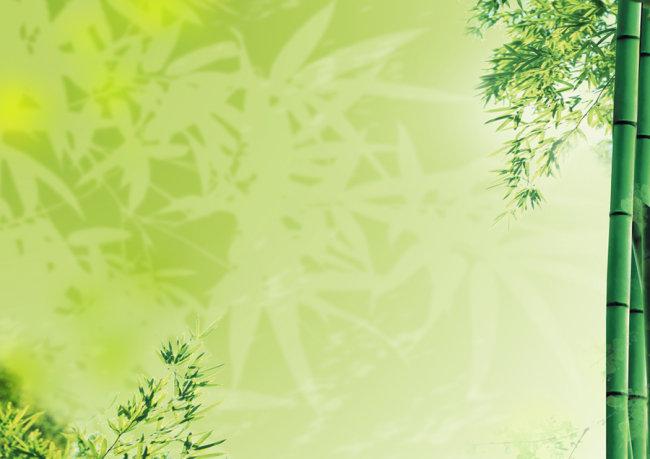 文化教育 竹子 竹叶 背景 底纹背景 绿色高清背景图 psd分层素材背景