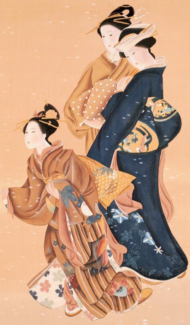 【jpg】日本仕女图 古代美女 仕女图 古典美女