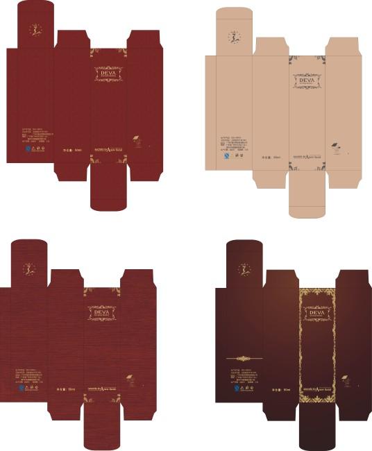 【cdr】欧式等风格纸盒设计2