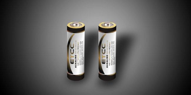 【cdr】电池贴纸设计