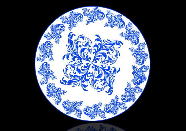 关键词: 中国风 青花瓷 ps高清素材 青花瓷素材 盘子素材 青花瓷盘子