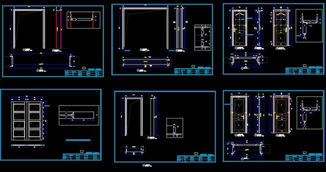 复合板结构图纸