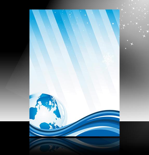 设计 海报背景图(半成品) > 蓝色科技海报背景 科技宣传单展板背景