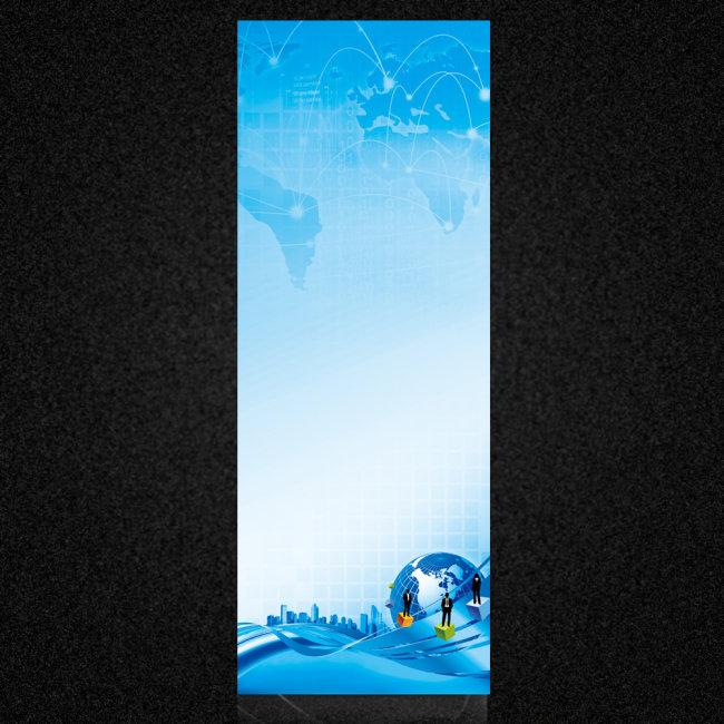 主页 原创专区 展板设计模板 x展架 x展架设计 > 公司x展架背景模板
