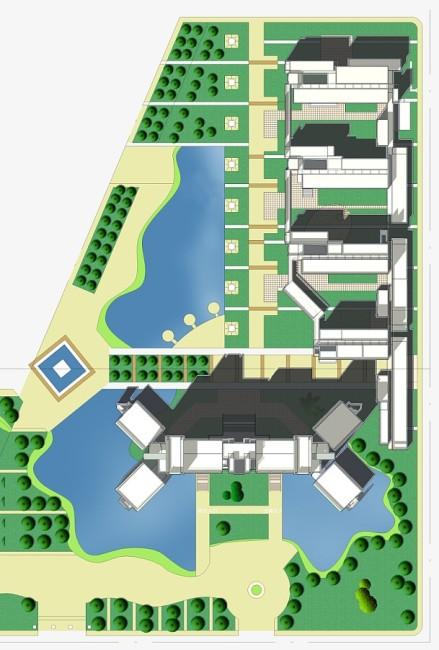 【dwg】医学院建筑规划设计