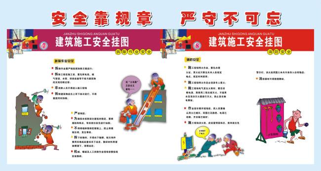 广告牌  关键词: 建筑施工安全展板 广告牌 拆除作业安全 建筑施工