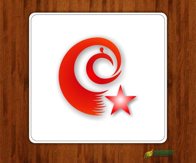 重庆公众网标志设计