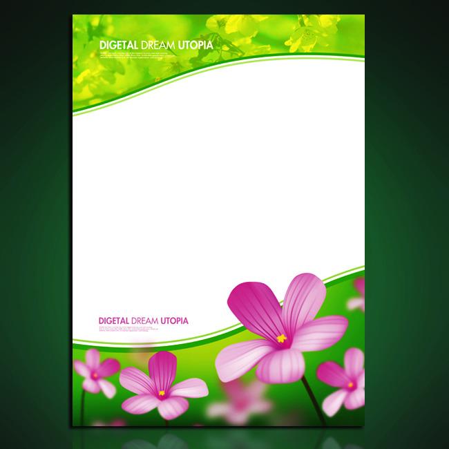 【psd】春天花朵海报_图片编号:wli10185929_海报背景