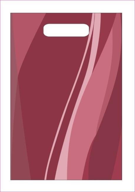 关键词: 红色曲线纹手袋 cdr 矢量 coreldraw9 花纹 线条 曲线美 柔美