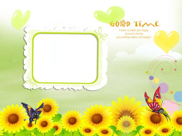 ppt 背景 背景图片 边框 模板 设计 素材 相框 595_446