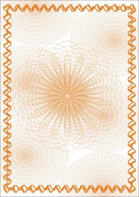 圆形边框曲线欧式古典