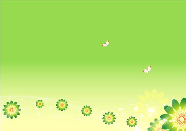 春天背景 春天图片 春天图片素材 春天图片矢量图 说明:绿色海报