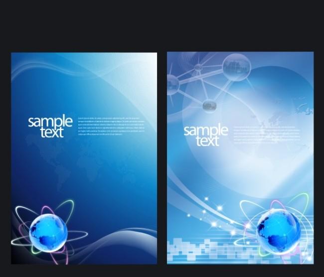 【cdr】蓝色科技展板_图片编号:wli10521804_展板背景