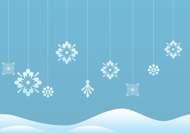 雪花 雪花背景 雪花元素 雪山 花纹 花纹背景 花纹底纹 花纹素材 海报