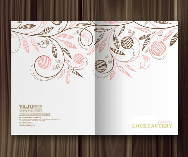 花园社区 娱乐休闲 园林工艺 木业家居 画册 画册封面 画册封面设计