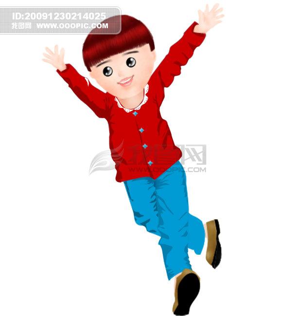 儿童模板下载 儿童模板psd素材 儿童模板设计模板 男孩 男孩子 跑步的