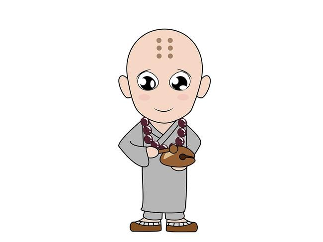 关键词: q版小和尚 卡通人 和尚 木鱼 宗教 佛教 念经 小和尚 可爱小