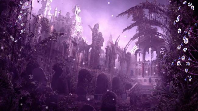 唯美风景梦幻仙境植物led大屏幕高清视频  关键词: 高清 视频 动态