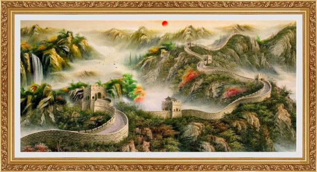 【psd】万里长城_图片编号:wli10908189_山水风景画