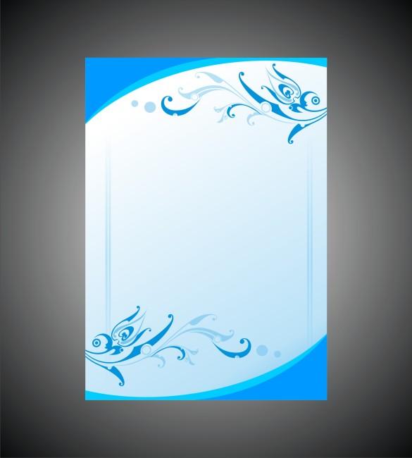 宣传 广告 展板模板 背景图 说明:蓝色大气简洁海报模板下载 展板设计