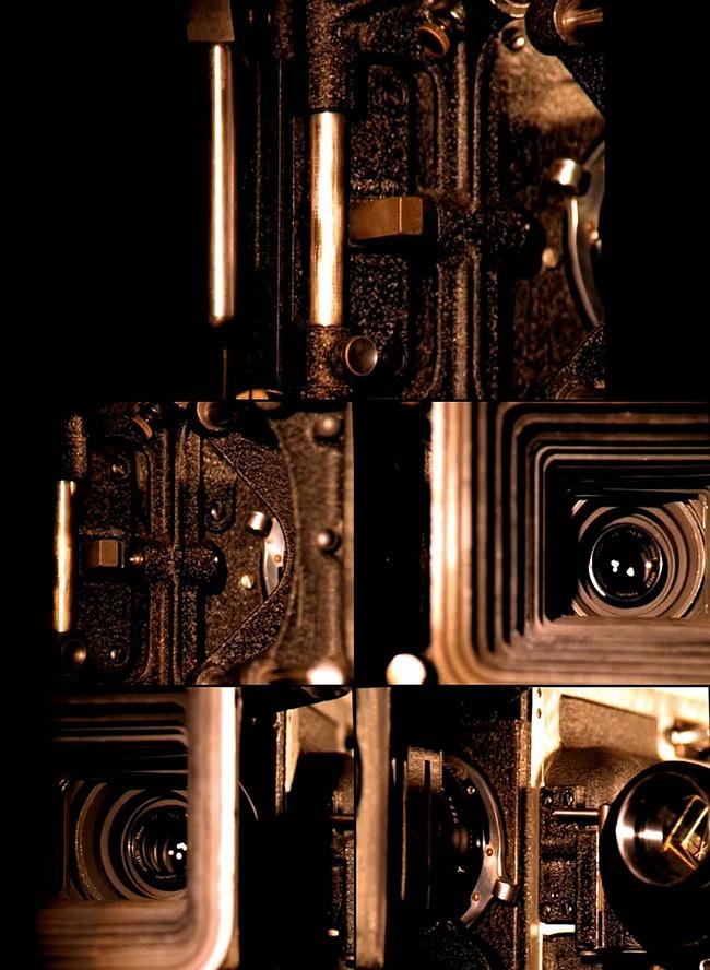 【无】央视《第十放映室》片尾老式摄影机视频图片